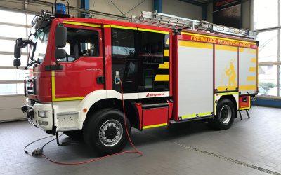 Neues Tanklöschfahrzeug TLF3000