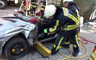 Übungsdienst Verkehrsunfall